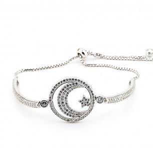 Ay Yıldız 925er Silber Armband