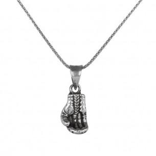 925 Ayar Gümüş Boks Eldiveni Kolye