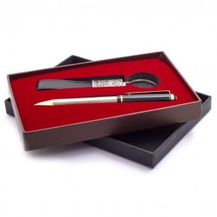Kugelschreiber Schreibset Gravur mit Tugra
