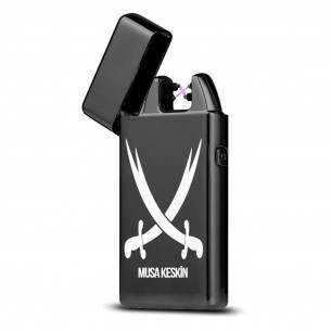 Isimli Elektrikli Cakmak USB Sarjli Ve Hediye Kutusu