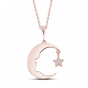 Ataturk Medallion Necklace in Sterling Silver