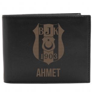 Persönliche Portemonnaie mit Gravur aus Leder