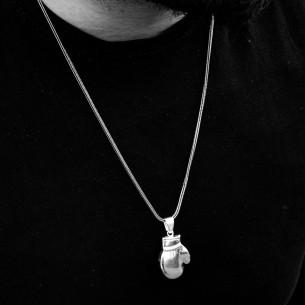 925 Ayar Gümüş Parmak İzi Desenli Gümüş Tesbih