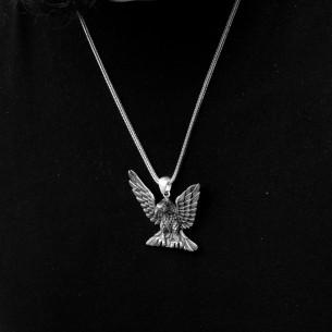 925 Ayar Gümüş Desenli Tesbih
