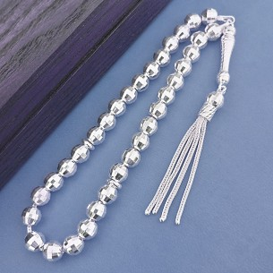 925 Sterling Silver Beads Misbaha Tasbih
