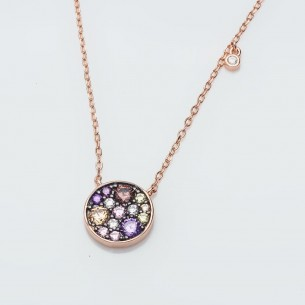 Women Silver Necklace With...