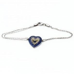 Nazar 925er Silber Armband