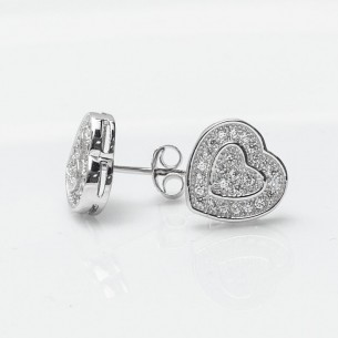 Silver Earrings with Cz Zirkonia