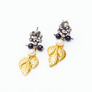 Ohrhänger für Damen aus 925er Silber mit Perlen