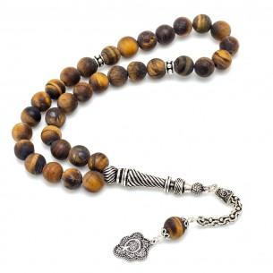 Gebetskette mit Ay Yıldız aus 925 Silber