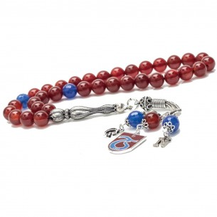 Trabzon TS Tesbih Gebetskette aus 925er Silber