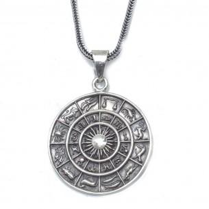Zodiac Herrenkette 925er Sterling Silber