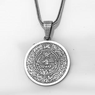 Fetih 1453 Anhänger mit Kette 925er Sterling Silber