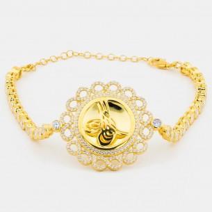 Tugra Bracelet In Sterling...