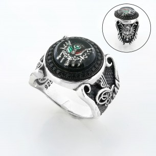 Sterling Silver Mens Ring...