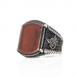 Ottoman Ring in Sterling...