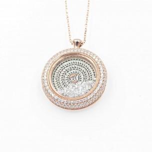 Esma-Ül Hüsna 925 Sterling Silber Halskette