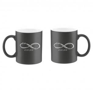 Personalized Infinity Mug  Set