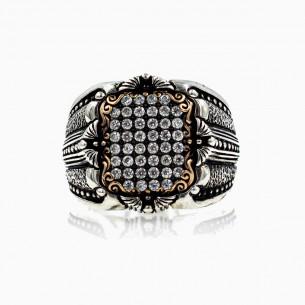 CZ Zircone Handmade Ring