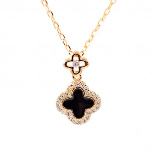 Clover 925 Sterling Silver Necklace