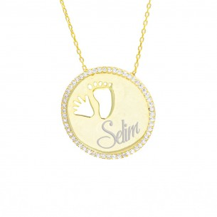 Sterling Silver Personalized Necklace With Name