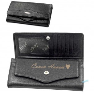Custom Leather Wallet for Women