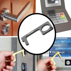 Personalized Non-Contact Door Opener, Portable EDC Door Opener Tool, Keep Your Hands Clean Multipurpose