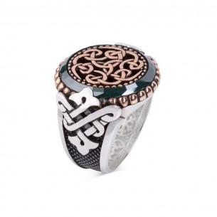 Green Stone Handmade Ring