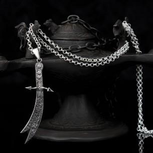 Zulfikar Necklace in 925 Sterling Silver