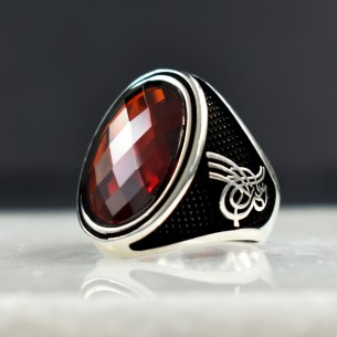 925s Silver Ottoman Signet Ring