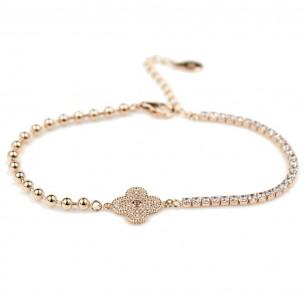 Claver Lucky Silver Bracelet
