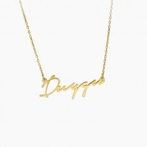 Name Silver Necklace