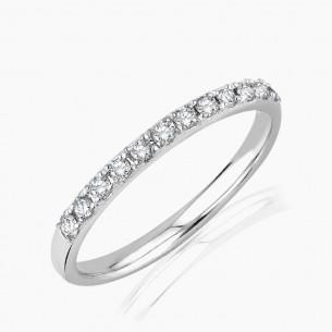 0.20ct. Diamond Ring White...