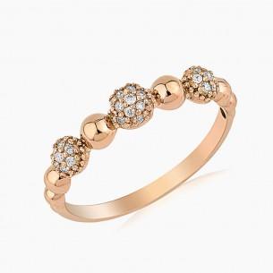 0.15ct. Diamond Ring Gold
