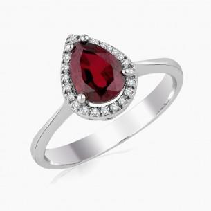 1.93ct. Diamond Ruby Ring...