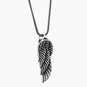 Wing Necklace in 925 Sterling Silver
