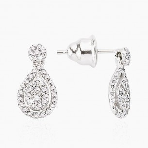 Earring In 8K Gold With...