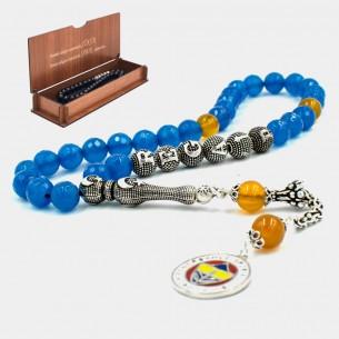 Tesbih Gebetskette mit FB aus 925 Silber
