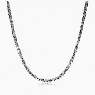 925 Sterling Silber 60cm Königskette (2,2mm)