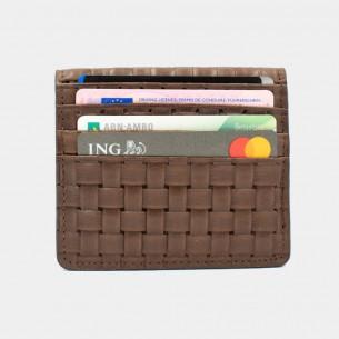 Kreditkartenetui Leder