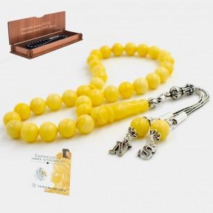 8mm Genuine Amber Prayer...