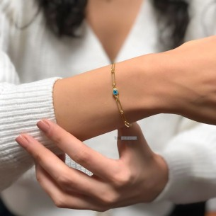 Nazar Armband aus 925...