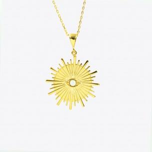 925 Sterling Silber Halskette mit Pearl