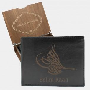 Persönliche Geschenkset für Männer mit Osmanische Tugra