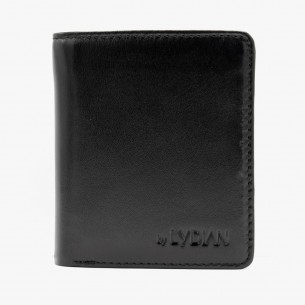 Schwarz Leder Geldbörse