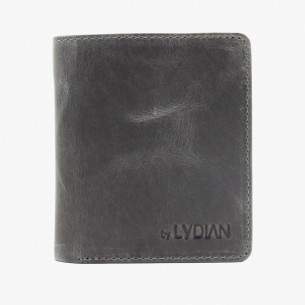 Antic Grey Leder Geldbörse