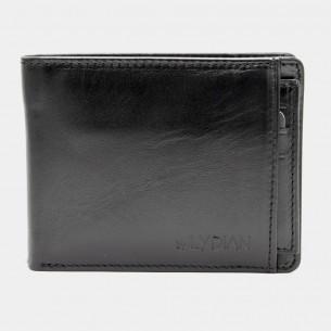 Genuine Leather Wallet Black Color