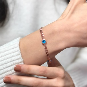 Nazar Armband aus 925 Sterling Silber