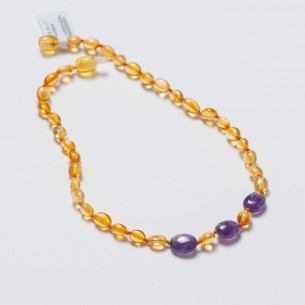 Amber Baby Teething Necklace CNA001