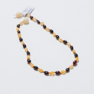 Amber Baby Teething Necklace CNA005